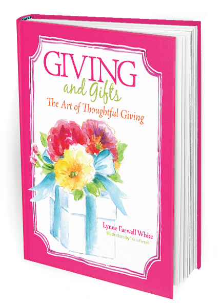 Giving and Gifts by Lynne Farwell White